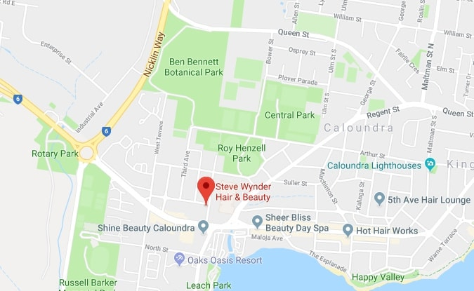 Steve Wynder Hairdressing 1:6 First Ave Caloundra QLD 4551