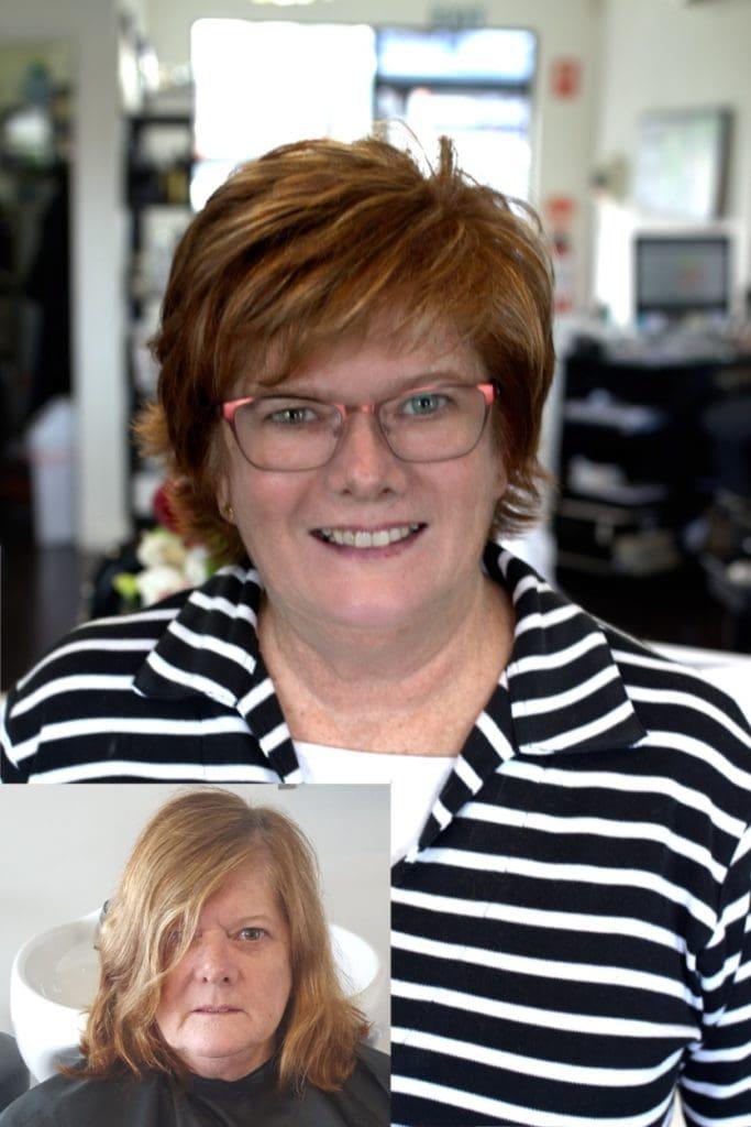 Before And After Steve Wynder Hairdressing