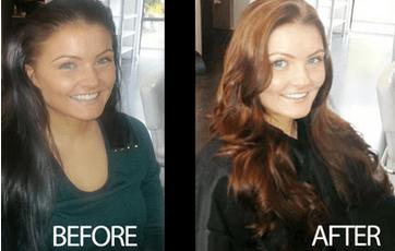 Best Hair Salon | Chocolate Melt Hair Colour Service
