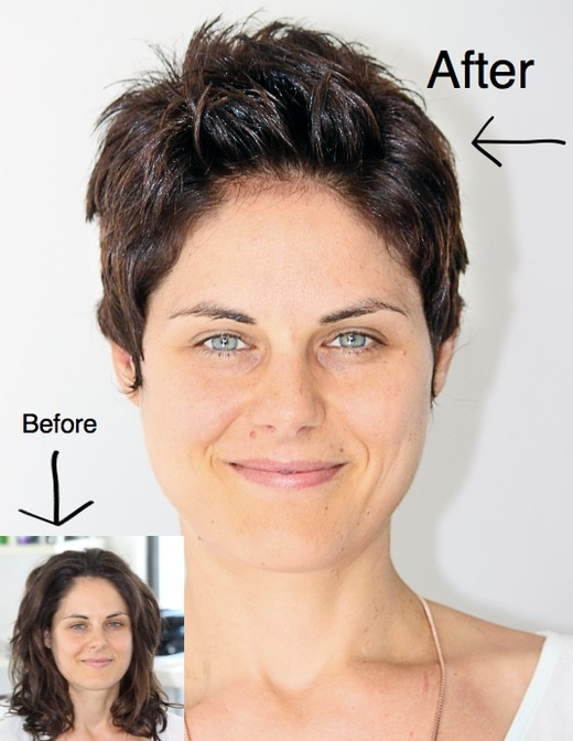 Before And After Steve Wynder Hair Beauty