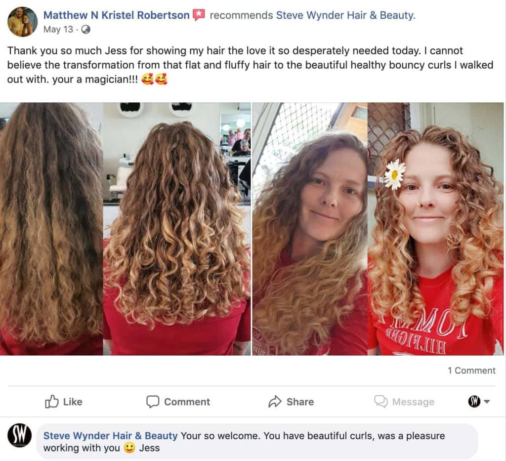 Curly hair review