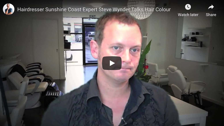 steve wynder talking hair colour